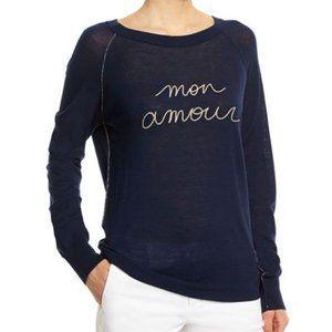 ZADIG & VOLTAIRE mon amour merino wool sweater S